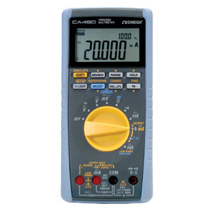 Process Multimeter Loop Power, 4 to 20 mA Digital Multimeter Output Function | CA450 Series