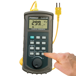 Handheld Thermocouple Simulator Thermometer | CL3515R