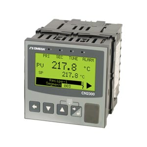 1/4 DIN Ramp/Soak Advanced Temperature/Process Controller | CN2300 Series