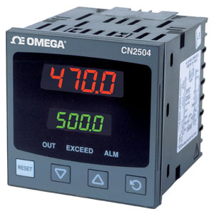 ¼ DIN Temperature/Process Limit Controllers | CN2504 Series