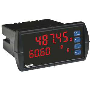 1/8 DIN Dual Input Process Panel Meter | DP6060 Series