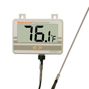 Waterproof Digital Thermometer with Probe | DP8891