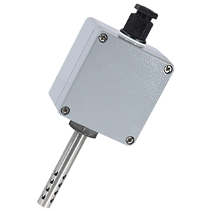 Air Temperature Sensor with sheathed RTD probe for Indoor and Outdoor Use | EWSA Series