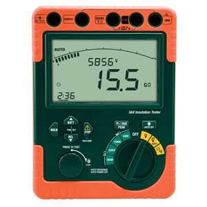 Digital High Voltage Insulation Tester | HHM-380395 Series