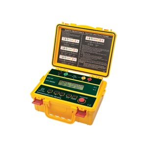 Earth Ground Resistance Tester Kit 4-Wire | HHM-GRT300