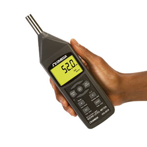 Sound Meter with Data Logging SD Card | HHSL402SD