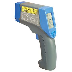 Professionelt infrarødt termometer med justerbar emissivitet, lasersigte med cirkel/punkt, synsfelt og -område 30:1 -60 til 800º C | OS423-LS