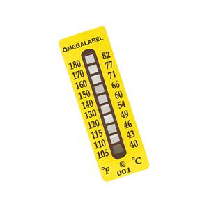 Etiquetas de Temperatura  Não Reversíveis - Omega Engineering | TL-10