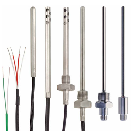 Industrial thermocouple probes, we have a large selection.