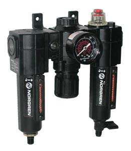 Norgren Excelon®  Air Filter-Regulator-Lubricator Combination Units for Use with Air Line Tools   C72A Series