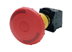 Standard Plastic Mushroom, Momentary & E-Stop Pushbuttons | OMPBD7P-MM