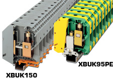High Current Terminal Blocks | XBUK150 and XBUK95PE