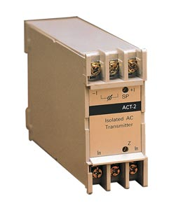 DIN Rail Mount AC Voltage/Current Signal Conditioners, 2-Wire Loop Powered Design | DRA-ACT-2 Series