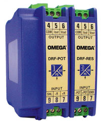 Resistance and Potentiometer Input Signal Conditioners | DRF-RES and DRF-POT