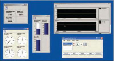 Omega DAQ Central software screenshot