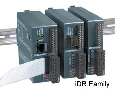 DIN rail controllers for temperature and process | iDR Series