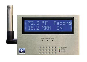 Temperature and Humidity data logger with Ethernet | iSD-TH Series