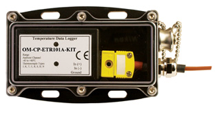 Thermocouple Temperature Data Logging System