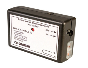 Differential Pressure and Temperature Logger | OM-CP-PRTC110