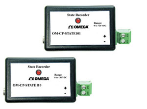 State Data Loggers Part of the NOMAD® Family | OM-CP-STATE101 and OM-CP-STATE110