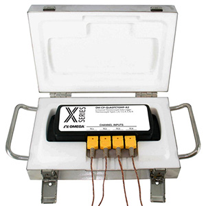 Thermally Insulated Multi-channel Oven Temperature Data Logger