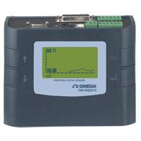 Enregistreur portable à 4/8 canaux avec entrées universelles, affichage intégré | OM-SQ2010