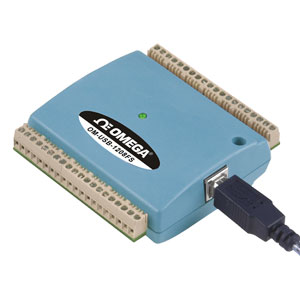USB-datafangstsystem med spænding med 8 kanaler  | OM-USB-1208FS-1408FS