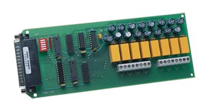 8-Channel Relay-Output Card for OMB-LOGBOOK  and DAQBOARD-2000 Series | OMB-DBK25