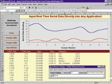 Serial Data Acquisition Direct Into Any PC Application
