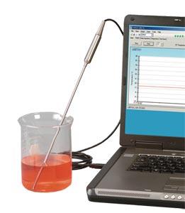 Termokoblerprobe med USB-interface og fri optagelses- og logningssoftware | TJ-USB Series