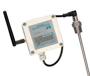 Wireless RTD Transmitter for Use in Sanitary Applications, weather resistant | UWRTD-2-NEMA