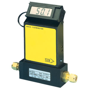 Economical Gas Mass Flow meters For Clean Gases with Optional Integral Display | FMA1700A_1800A Series