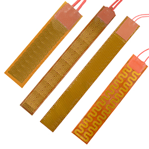 Kapton Polyimide flexible Heaters | Different sizes and wattages. | KHRA, KHLVA, KHA Series