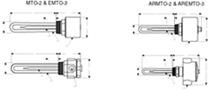 Oil Heaters | MTO-2 & EMTO-3 STYLES