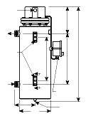 Pure Water and Mildly Corrosive Solution Circulation Heater   NWHIS Series