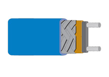 Cenově dostupný topný kabel s automatickou regulací včetně protimrazové ochrany | SRF3, SRF5 a SRF8