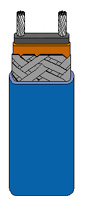 Self-Regulating Heating Cable/Low Temperature | SRL Series