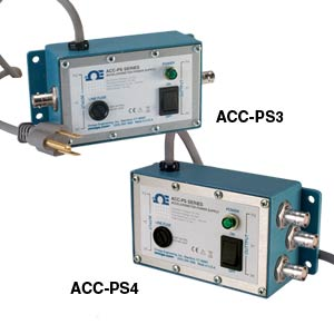 Accelerometer power supply   ACC-PS3A and ACC-PS4A