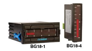 Indicateurs statiques à colonnes, 1/8 DIN ou 96 x 24 mm, échelle horizontale ou verticale | BG18