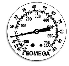 Standard Dials for Comercial and Panel Gauges | DIALS