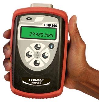Digital barometer and precision manometer | HHP360