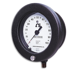pressure Test Gauges, Type T, High Accuracy and Monel Wetted Parts, 4 1/2