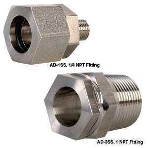 Flush Mount Adapters for Series 102, 440 and 510 Transducers | PX102 Adaptor