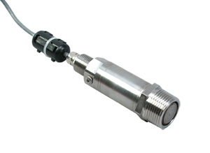 G1 Thread Flush Diaphragm Low Pressure Transmitter, 0-400 mbar to 0-1.6 bar | PXM42 Series, Metric, 4-20 mA Output