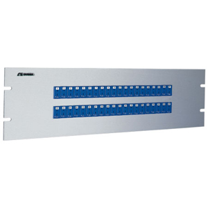 19 inch Rack Panels with Miniature Thermocouple Sockets | 19MJP Series
