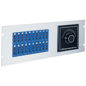19 inch Jack Panels 3-Prong Connectors | 19TJP Series