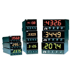 i-Series 1/32, 1/16, 1/8 DIN Programmable Temperature/Process Controllers on