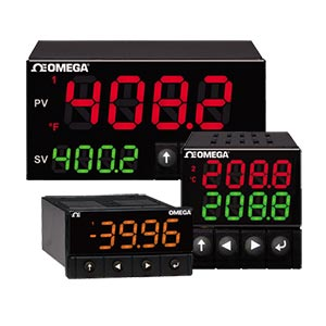 Temperature, strain and Process Omega PID Controllers | Platinum Series