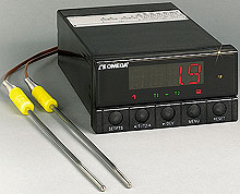 Dual thermocouple indicator or controller | DP26 Series