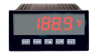 Panel Temperature Meters For Thermocouple and RTD Inputs | DP63400-T